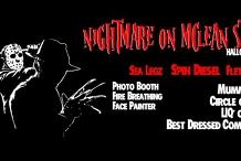 Nightmare on McLean Street - Halloween Dress Up Party