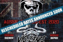Sacred Reich / Vio-lence - Canberra The Basement