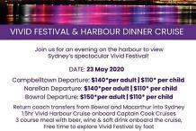 Vivid Festival & Dinner Cruise Group Departure