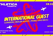 Athletica Pres. International Guest TBA (LDN)