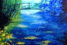 Paint and Sip Class - Monet Bridge