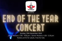 RBA Rockers' End Of Year Concert