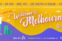 Welcome to Melbourne + Happy Hour: Beer, Snacks y estudiantes