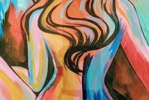 Paint & Sip Northcote Studio - Abstract Woman