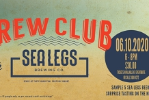 The Brew Club - Sea Legs Brewing Co.