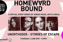 Festival of Jewish Arts and Music Presents 'Unorthodox - Stories of Escape' - John Safran, Deborah Feldman, Abby Stein & Dass