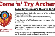 Come 'n' Try Archery at Phoenix