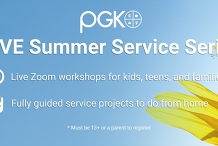 Summer Service Series, Session 2 - DIY Face Masks & Letters to the Homeless