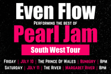 EVEN FLOW : Pearl Jam Tribute