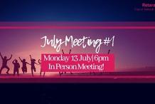 July Meeting #1: Strategic Planning