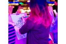 Sundown Sketch Club: Neon Vivid edition