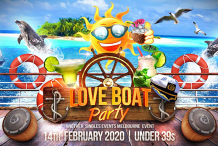 The Love Boat Valentines Party   Under 39s (3 year age leeway)