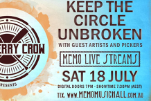 Row Jerry Crow: Keep The Circle Unbroken Live Stream From MEMO