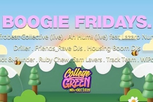 Boogie Friday's // College Green