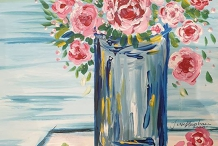 Paint & Sip at the Studio - Flowers