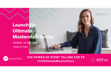 LaunchVic Ultimate Masterclass Series - The Power of Storytelling for PR by Charater + Distinction