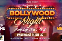 BOLLYWOOD NIGHT - Gold Coast's Biggest Party!