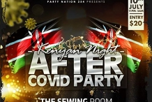 Kenyan Night-After Covid Party