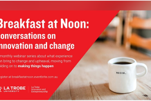 Breakfast at Noon: conversations on innovation and change
