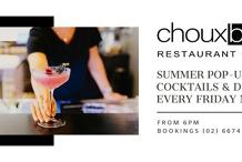 Friday Nights at Choux Bar