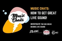 MusicChats: How to get Great Live Sound!