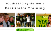 YOUTh LEADing the World Faciltator Training Online.  Tues 26th May & Wed 27th May, 9am-5pm.