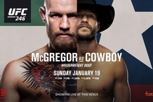 UFC 246 McGregor vs Cowboy LIVE at Currumbin RSL