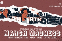 March Madness at The Toff: Celebrating 2 Years of Tresillo [POSTPONED]