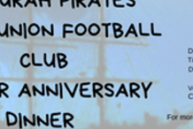Mandurah Pirates RUFC 25 year anniversary dinner