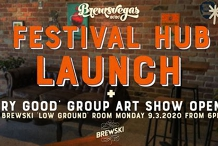 Brewsvegas 2020 Festival Hub Launch