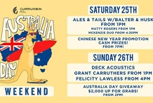 Australia Day Weekend at Currumbin RSL