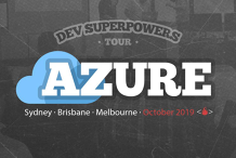 Azure Superpowers Tour - Melbourne