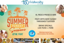 Sunday Sessions at the Fraternity Club