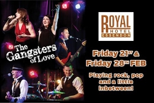 Gangsters of Love at the Royal Hotel