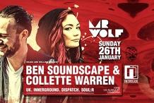 Headz are Rolling pres. Ben Soundscape & Collette Warren
