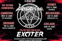 Venom Inc / Exciter - Sydney - Crowbar