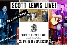 Scott Lewis Live at Olde Tudor Hotel