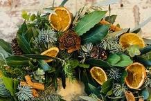 Fragrant Botanical Christmas Wreath
