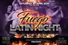 Fuego Latin Night at Social House