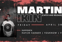 Mr Wolf pres. Martin Ikin (Catch & Release) | Friday 3rd April
