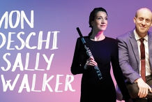 Simon Tedeschi and Sally Walker