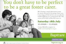 Foster Care Virtual Information Session - Tasmania