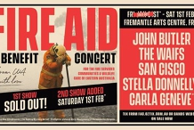 SOLD OUT!* FIRE AID - Benefit Concert
