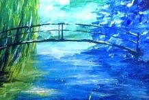 Monet Bridge - Clock Hotel