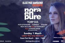 Electric Gardens Presents Nora En Pure