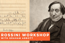 Rossini: Petite Messe solonelle Workshop