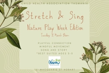 Stretch & Sing Nature Play Week edition