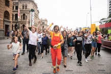 Guru Dudu's Silent Disco Walking Tour - Brisbane