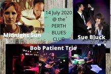 Midnight Sun + Sue Bluck & Bob Patient Trio