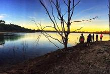 Bendigo - Body Positive Hiking - Sunset at Crusoe Reservoir
